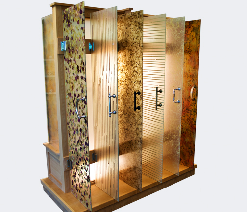 & Bella Fleur :: EnsoGlass Shower Doors